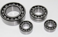 Double row deep groove ball bearings can also withs